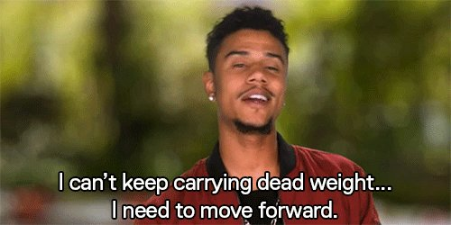 .@AirFizzo dropping some real knowledge… DROP THE DEAD WEIGHT! #LHHH h...