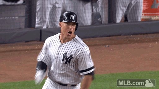 ALLLLLL RIIIIIIIIIIIIISE!!!!!!  3-RUN SHOT FOR AARON JAMES JUDGE AND T...