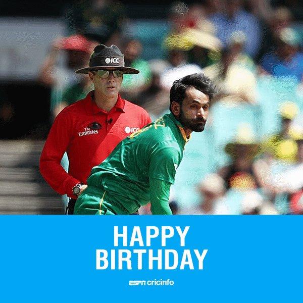 Happy birthday to Pakistan allrounder Mohammad Hafeez!