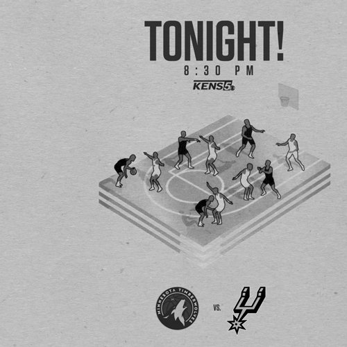 TONIGHT!  #GoSpursGo https://t.co/QjXf2b8uqa