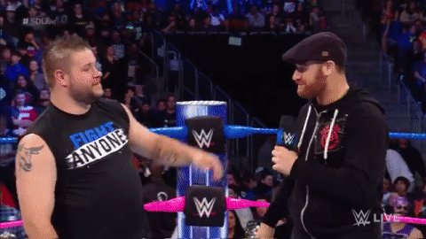 Still surreal... #SDLive @FightOwensFight @SamiZayn https://t.co/Wi2f9...