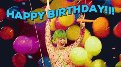 Happy Birthday Katy Perry I love you so much! I hope you have an amazing day!!!
