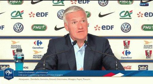 """"""" Monsieur #Deschamps que pensez-vous des propos de #Lineker sur #Benzema ? """"   #EDE #ANDPSG #LDC #TeamParieur #REATOT #MonBes"""