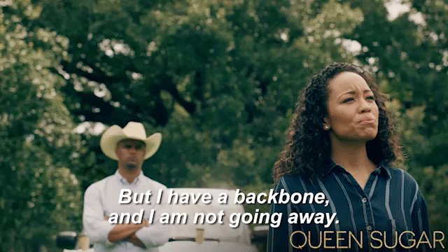 Let him know, Charley. 👏🏾#QUEENSUGAR https://t.co/1TNZX5DZ18
