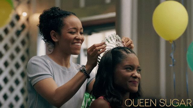 You deserve this moment, sis. #QUEENSUGAR https://t.co/JhsbMPB1al
