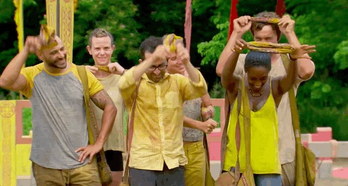 Three words that change the game: #DropYourBuffs #Survivor https://t.c...
