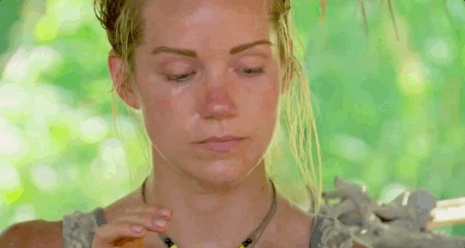 """Jessica, you're staring at your chips too long."" - Jessica #Survivor..."