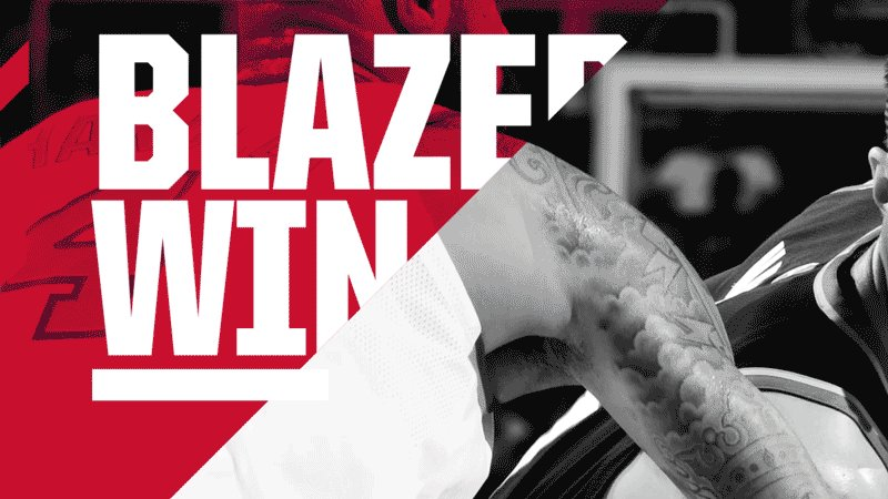 BLAZERS WIN!  BLAZERS WIN! https://t.co/1uitnASNkC