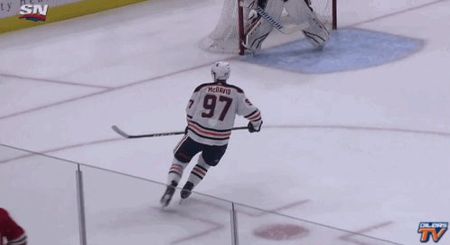RT @EdmontonOilers: You thought he was good going forward... #LetsGoOilers https://t.co/vOuAkFhS1D