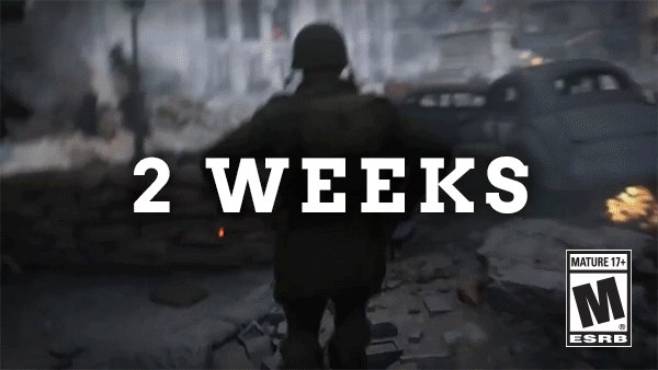 Campaign. Multiplayer. Nazi Zombies. It all arrives in two weeks with #CODWWII!