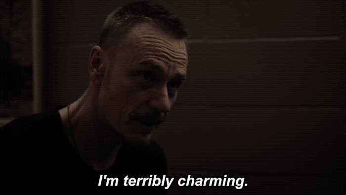 Let's not forget humble as well. 😏 #TheExorcist https://t.co/ChED56H43...