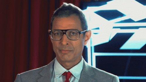 Happy birthday to my favourite: Jeff Goldblum