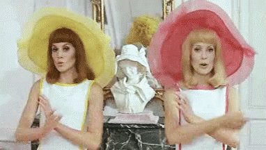 Happy birthday to Catherine Deneuve! If only the Jacques Demy box set I just ordered was already here...
