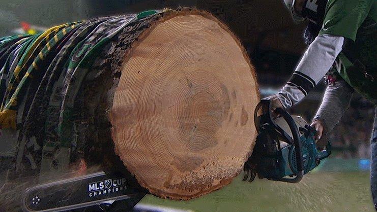 GOAAAAAALLLL DARREN MATTOCKS! 2-1 Timbers less than three minutes into...