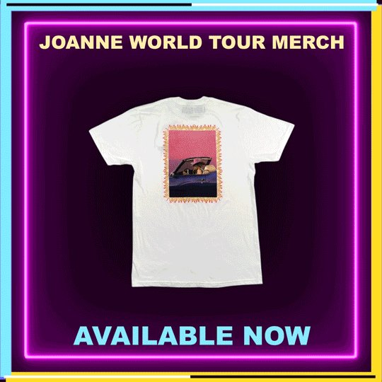 #JOANNEworldtour merch available now on my shop https://t.co/9GmVAiwDBU 💞 https://t.co/waeKaXBXmS