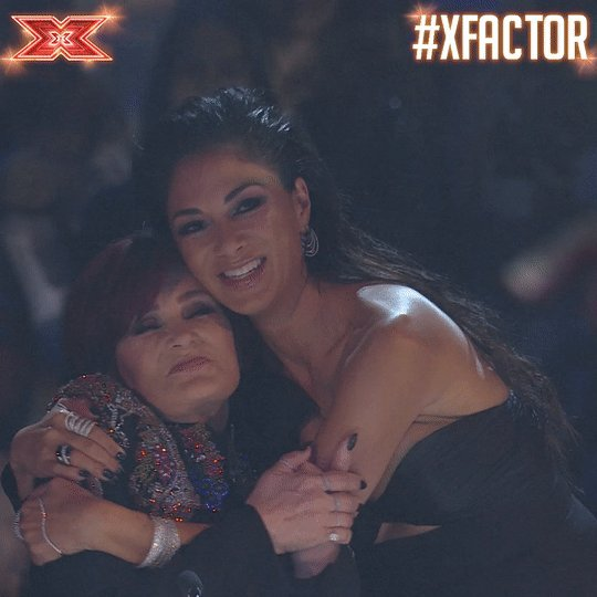 Happy #GalentinesDay from our fave BFFs @MrsSOsbourne and @nicolescherzy! 😍 👯‍♂️ 🤗 #XFactor https://t.co/tlKjvYjy25