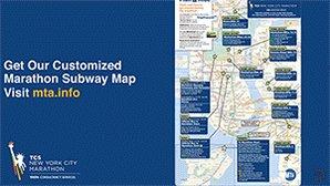 Marathon Subway Map.Nyct Subway On Twitter Also Get Our Customized Marathon Subway Map