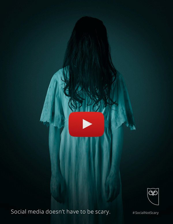 This is the scariest social should ever be 👻 ow.ly/dMtW30geJ0A Classic horror movie characters with a social twist #HootHalloween