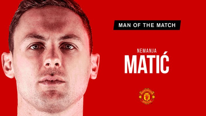 Retweet to vote for Nemanja Matic as tonight's #MUFC Man of the Match.