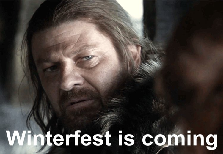 Winterfest is coming, make sure you get...