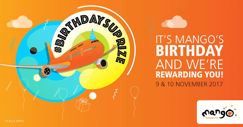 It's our birthday and we have a reward f...