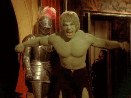 We wish a very happy birthday to The Incredible Hulk itself, Lou Ferrigno! ¡Feliz cumpleaños Sr.