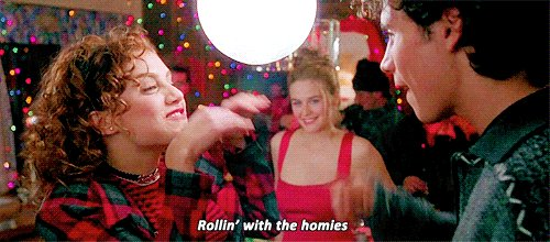 Happy birthday Brittany Murphy! Doing the \rollin\ with the homies\ dance and thinking of you