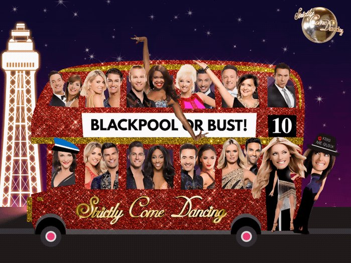 Fake tan ✅ Sequins ✅ Dancing shoes ✅ Our #Strictly stars better pack their bags, they're off to Blackpool! https://t.co/RsTGum2t35