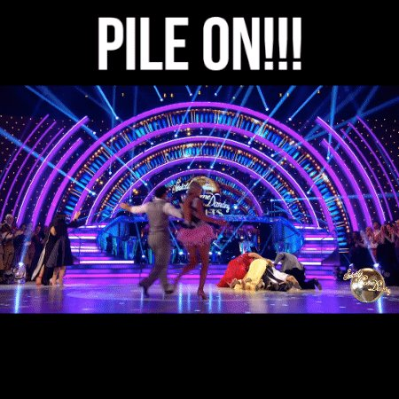 There's only one way to give @RuthieeL and @TheAntonDuBeke a proper send-off... #Strictly https://t.co/dBWvF1zcfH