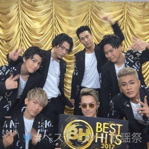「ベストヒット歌謡祭2017」 ただいま放送中! with 三代目J Soul Brothers from EXILE TRIBE @jsb3_official #ベストヒット歌謡祭