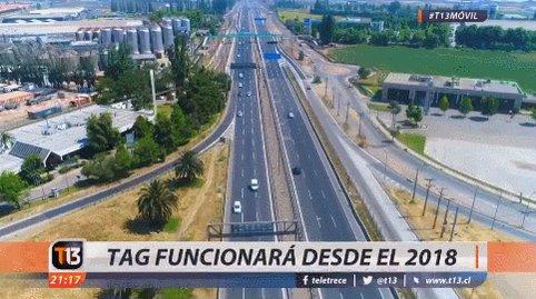 T13movil La Mega Autopista Santiago Lampa Josefabustos Nos