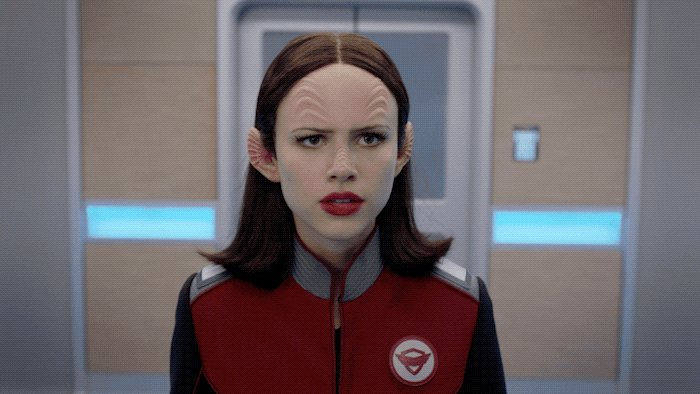 WHAT IS HAPPENING!?! 🤡🏃🏻♀️ #TheOrville...