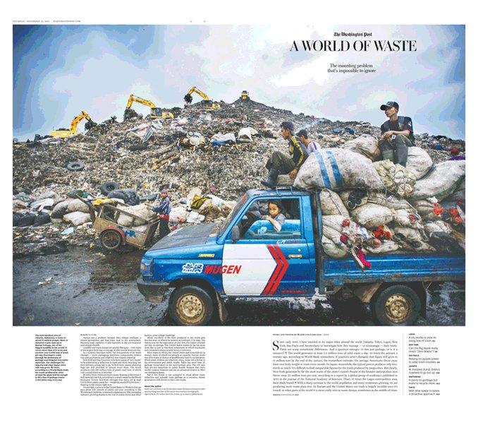 Afbeeldingsresultaat voor kadir van lohuizen washington post waste