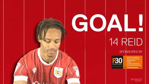 GOAL: Hull City 2-2 #BristolCity, Reid 8...