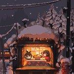 雪国へ温泉旅行と美味しい鍋(行きたい) #pixelart pic.twitter.com/s5iU…