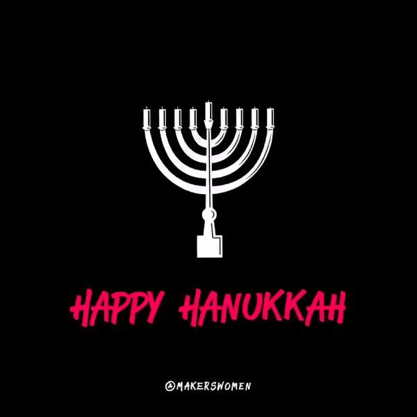 #HappyHanukkah from team MAKERS!!! https...