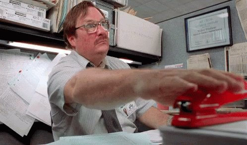 #AtTheCompanyXMasPartyIGot My stapler ba...
