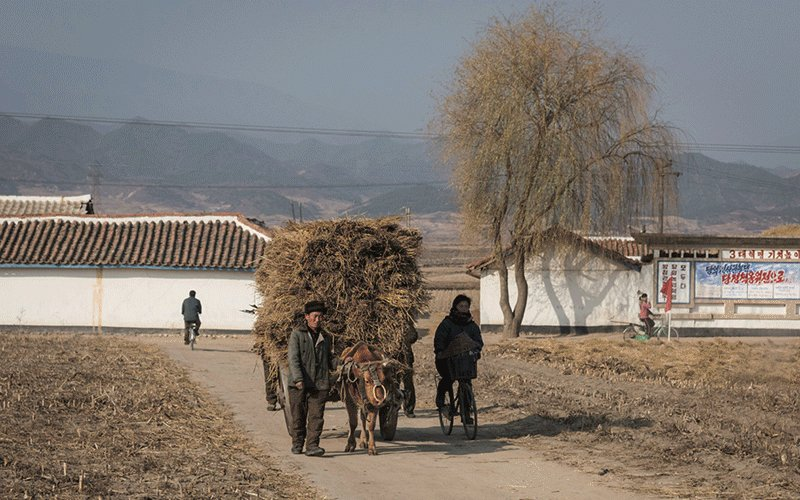 Photos from North Korea's east coast show how tough life is away from the capital