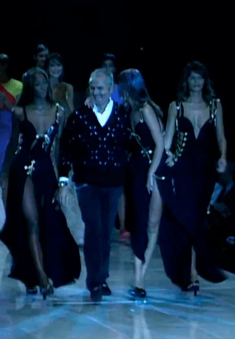 Happy bday (in memoriam) to this icon, Gianni Versace