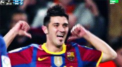 Happy birthday to the kid from Asturias, David Villa! El Guajé!