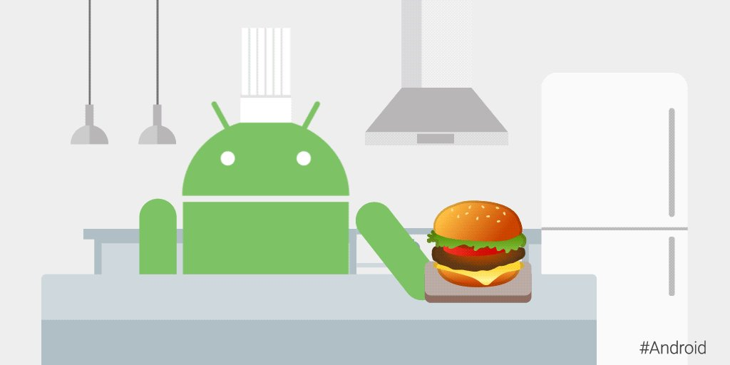 No need to flip out 😉 The new #Android cheeseburger emoji is fresh off the grill. Rolling out now with #AndroidOreo 8.1.