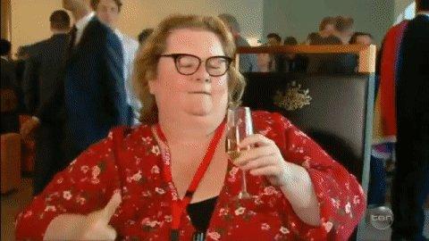 RT @theprojecttv: Raise a glass to @MagdaSzubanski, Australia! 🥂 #MarriageEquality #TheProjectTV https://t.co/6lckmIvgVR