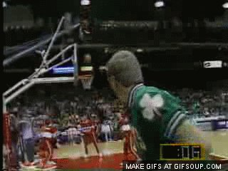 So glad I was able to watch Larry Bird play for the Happy 61st Birthday Larry Legend!