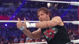Happy Birthday to Dean Ambrose!