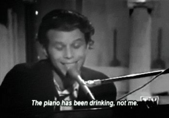 "\""I like beautiful melodies telling me terrible things\"" Happy 68th Birthday, Tom Waits."
