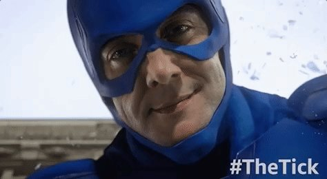 RT @TheTickTV: #BeatTheHolidayBluesBy watching your favorite BLUE hero! #TheTick https://t.co/mn7ylah1VU https://t.co/QOqKmT2lXv