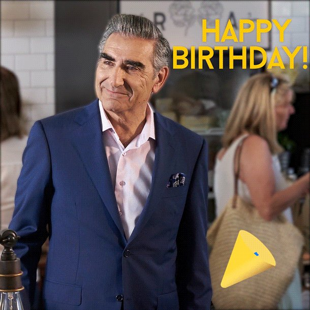It\s the one and only Eugene Levy\s day of birth. Please join us in wishing him a happy birthday!