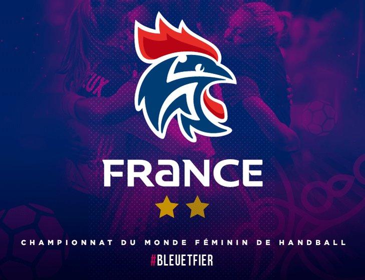 RT @FRAHandball: #EdFF #FRANOR 🏆Championnes du monde ⭐️⭐️ #BleuetFier https://t.co/nZQJuA5bye