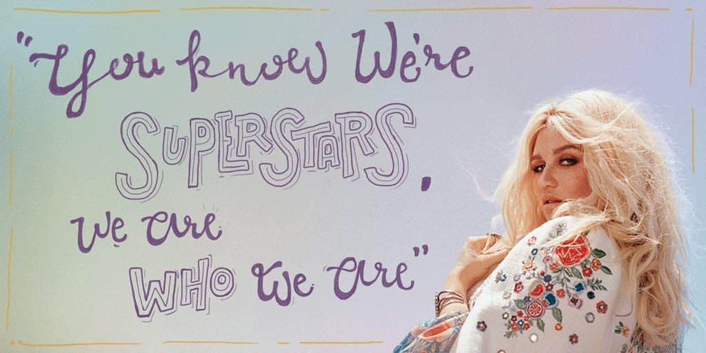A little #MondayMotivation from @KeshaRose ✨  The Adventures of Kesha & @macklemore tickets https://t.co/xDWRHVp1XQ