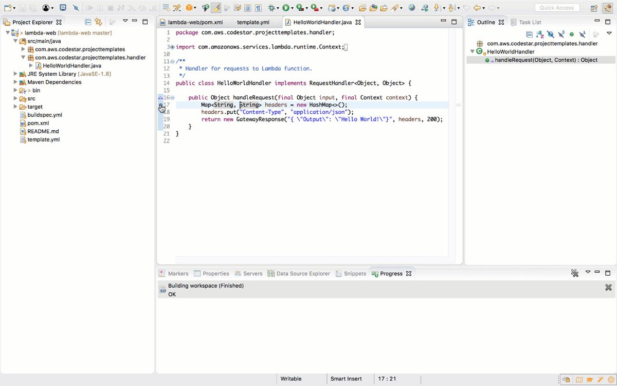 AWS SDK for Java on Twitter: